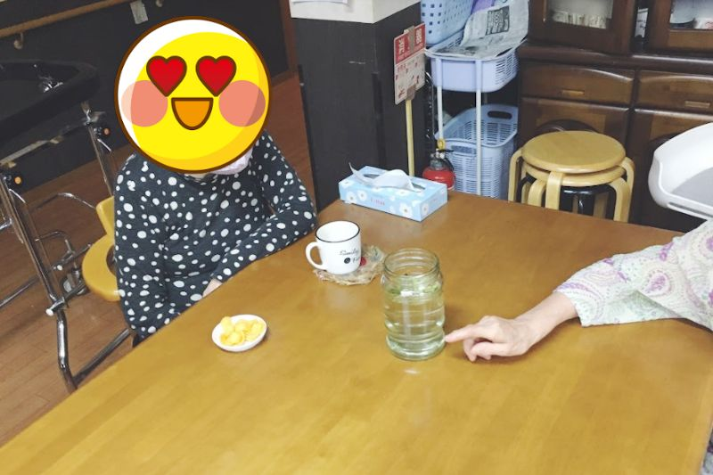 津幡グループホーム メダカの赤ちゃん