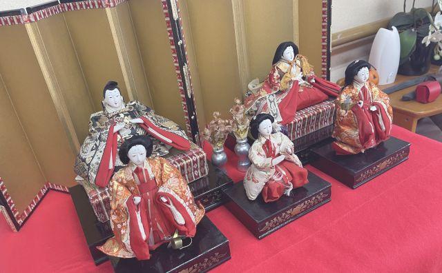グループホーム123_雛人形飾り